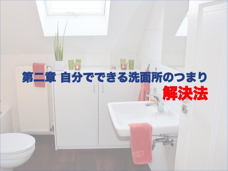 第二章:自分でできる洗面所のつまり解決方法