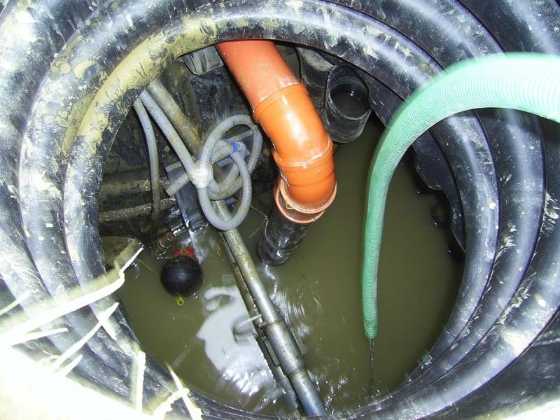 3・汚水ポンプの故障