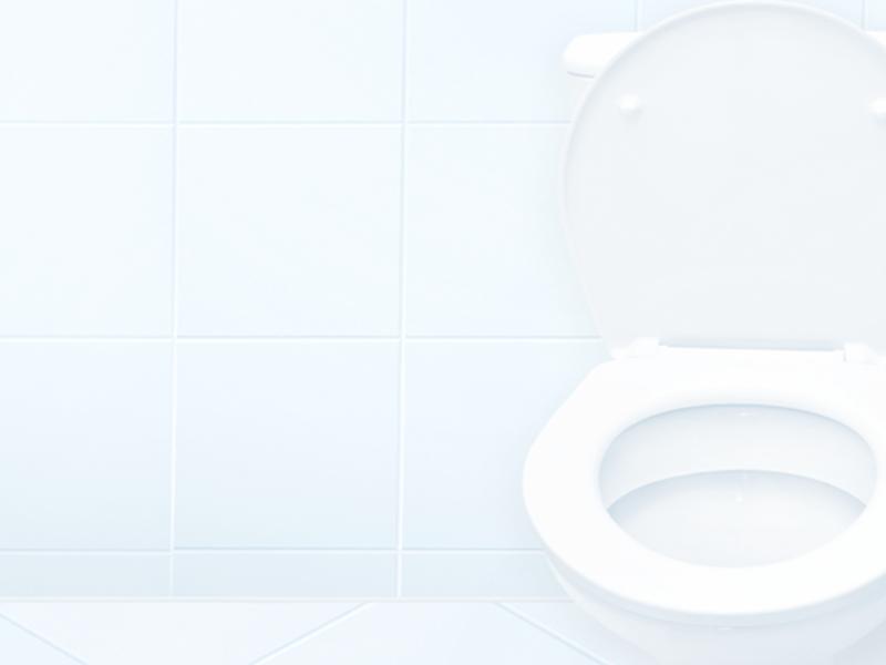 3・トイレ室内に物を置かない