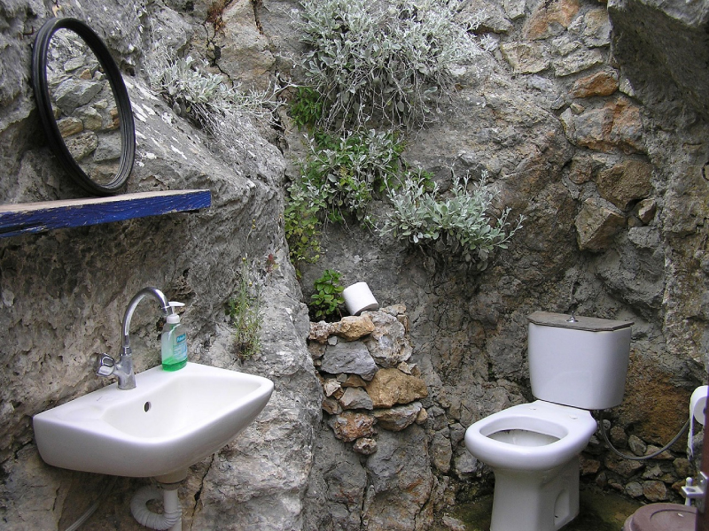 1・とりあえず止水栓を止める