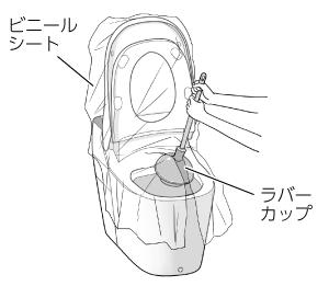 ラバーカップ(スッポン)