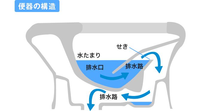 2.トイレは理にかなった構造をしています