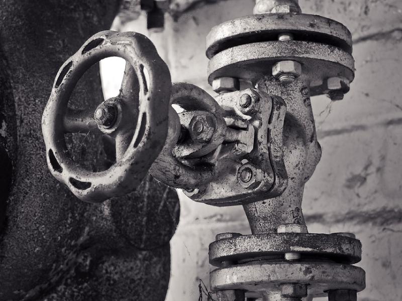 1・まずは止水栓を閉めること!