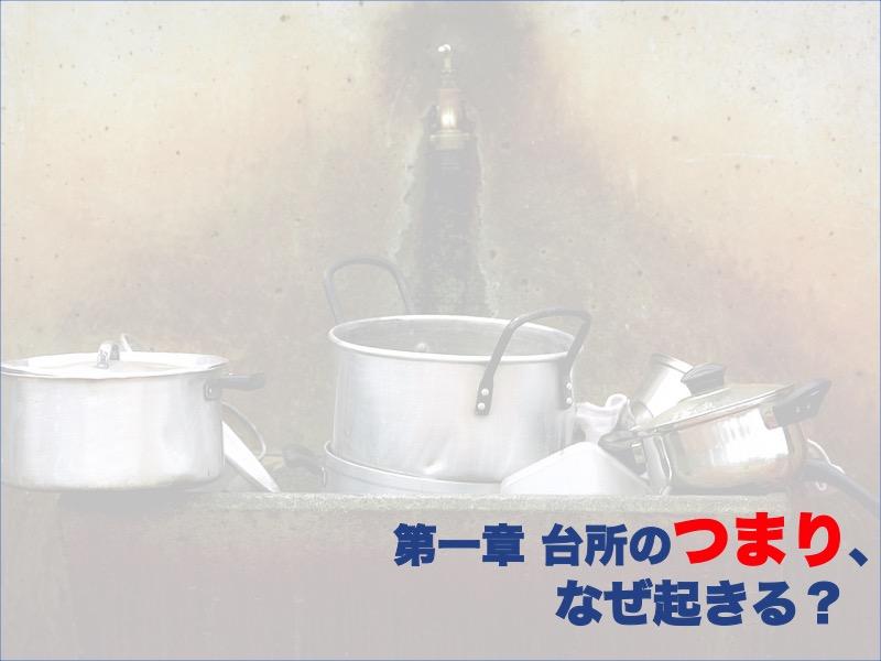 第一章:台所のつまり、なぜ起きる?