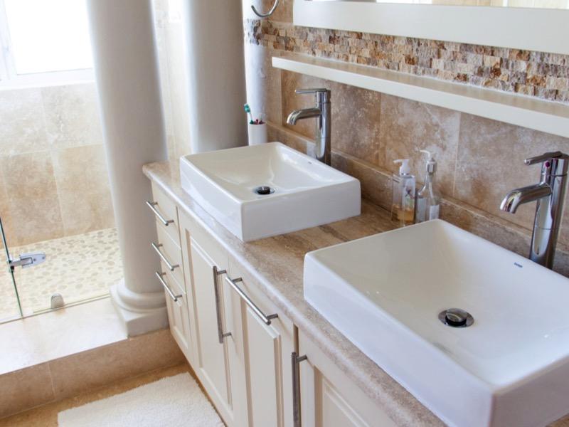 2・トイレのインテリア実例2:洗面台