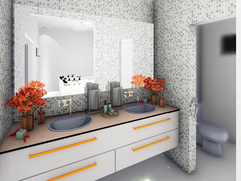 3・トイレのインテリア実例3:観葉植物