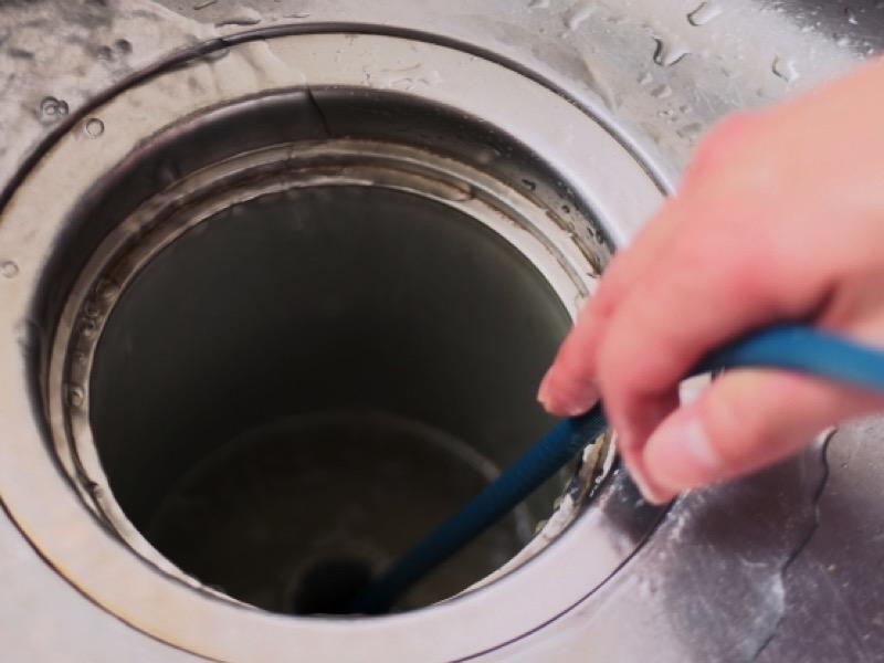 2・排水溝のつまりの対処方法