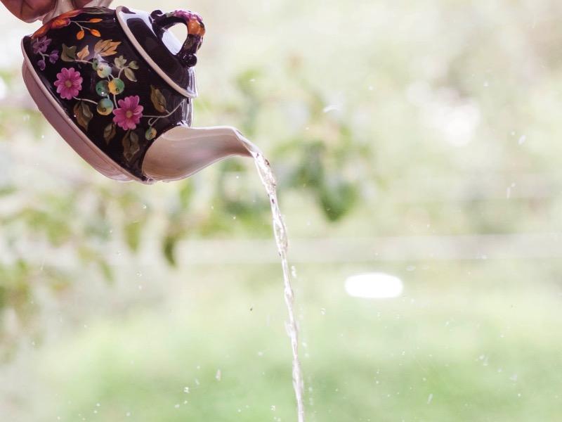 1・熱湯で油を浮かす