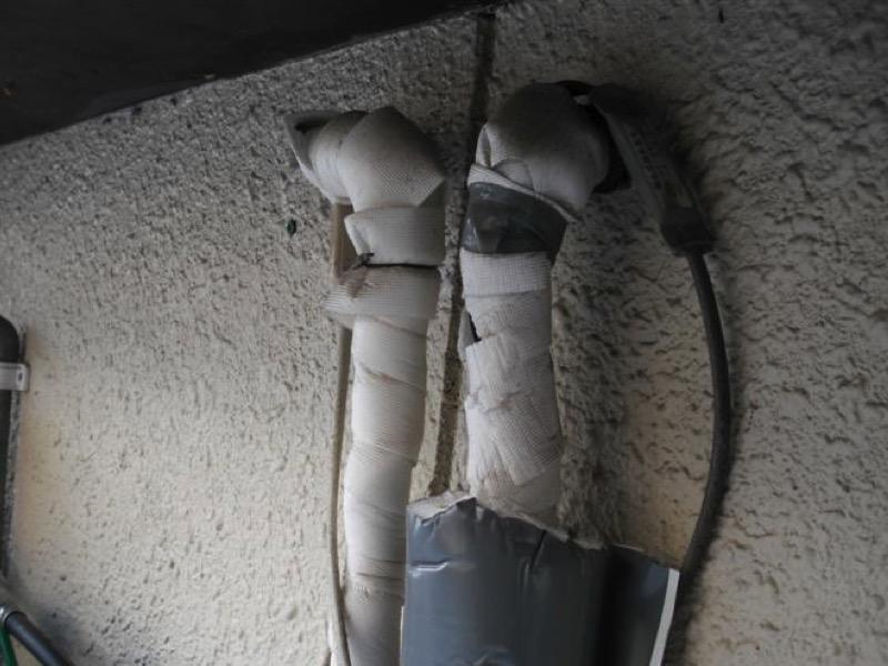 6・配管用凍結防止ヒーターを設置する