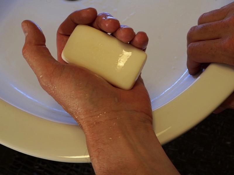 2・石鹸カス